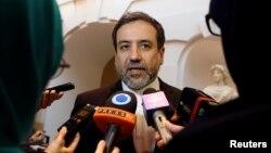 Trưởng đoàn thương thuyết hạt nhân Iran Abbas Araqchi.
