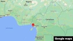 Bakingili, Cameroon (Google Maps)