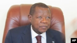 Lambert Mende, le porte-parole du gouvernement de la RDC