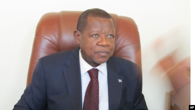 DRC Communication minister and government spokesman, Lambert Mende (file photo).