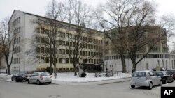 资料照-德国南部罗森柏格主教座堂合唱团学校外观