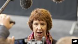 Người đứng đầu chính sách đối ngoại của EU Catherine Ashton