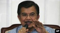 Wapres JK membuka konferensi internasional tentang terorisme dan ISIS Senin (23/3) siang di Jakarta (foto: dok).