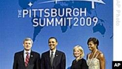 20国集团领导人在匹兹堡举行经济峰会