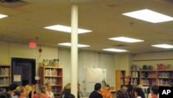 贝尔小学的PTA会议