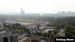 서울 용산의 주한 미군 기지. (자료사진)