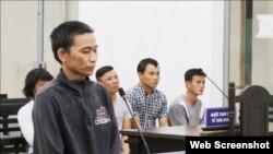Ông Phan Văn Bình tại phiên xử ngày 22/1/2019 ở Khánh Hòa, Photo: TTXVN