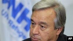 Komisaris Tinggi UNHCR, Antonio Guterres: Krisis baru tahun lalu menyebabkan tingginya jumlah pengungsi dalam 10 tahun terakhir (foto: dok.).