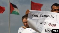 27 activistas pro-palestinos zarparon en miércoles desde Turquía con la intención brindar ayuda a la población palestina, desafiando el bloqueo israelí impuesto en la zona desde 2007.