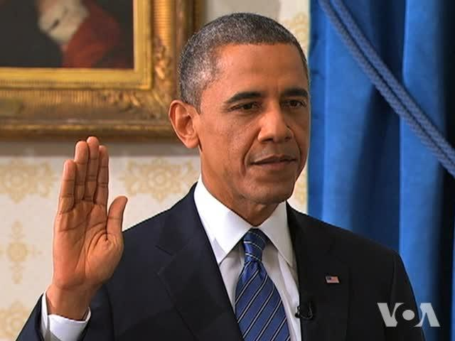 Obama Sworn in for 2nd Term as President