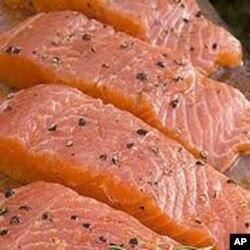 Somon balığı bol miktarda omga-3 içeriyor