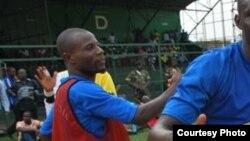 Mchezaji wa kandanda wa Burundi Kubi Banga