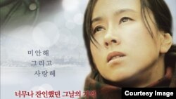 영화 '겨울나비' 포스터.