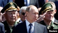 Predsednik Rusije Vladimir Putin na ceremoniji obeležavanja 75. godišnjice invazije nacističke Nemačke na Sovjetski Savez, 22. jun 2016.