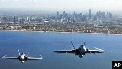 澳大利亚战机 F/A-18F