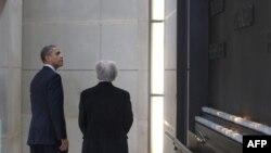 Барак Обама и Эли Визель