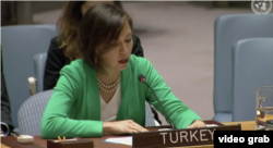 Türkiye'nin BM Daimi Temsilci Yardımcısı Başak Yalçın