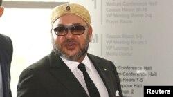 Le roi du Maroc, Mohammed VI, le 31 janvier 2017.