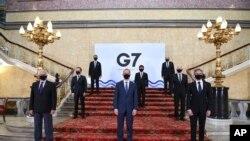 Фото: міністри закордонних справ країн «Великої сімки», 4 травня 2021 року