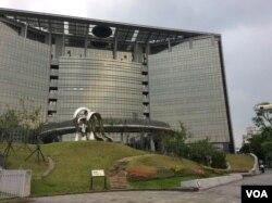台湾卫生福利部大楼 (申华 报道)