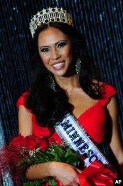 Miss Minnesota 2012 ນິດຕະຍາ ປານມາໄລທອງ ກຽມໂຕເຂົ້າປະກວດ Miss USA