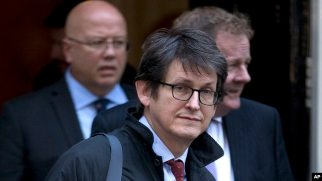 Alan Rusbridger, editor of the  Guardian newspaper  in London, Dec. 4, 2012.