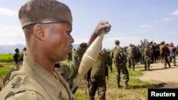 지난달 18일 콩고 정부군이 반군 M23이 점령했던 루슈루 지역을 탈환했다.