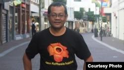 Agus Susatya, peneliti dan penemu 3 jenis Rafflesia dari Universitas Bengkulu. (Foto courtesy: Agus Susatya).