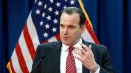 Ông Brett McGurk được nói là có bất đồng mạnh mẽ với quyết định chóng vánh của Tổng thống Donald Trump rút 2.000 binh sĩ Mỹ khỏi Syria.