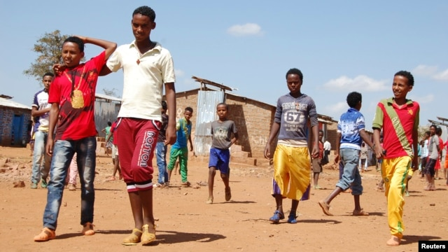 For more than two years, young unaccompanied Eritreans have escaped conscription to reach Ethiopia's Mai-Aini refugee camp to begin a migrant journey full of risks.