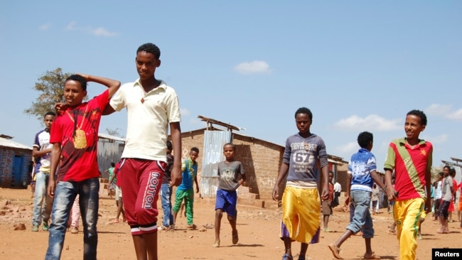 For more than two years, young unaccompanied Eritreans have escaped to Ethiopia's Mai-Aini refugee camp to begin a journey full of risks.
