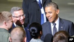 Президент Барак Обама у Польщі