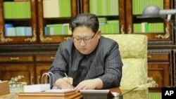 北韓領導人金正恩11月28日。