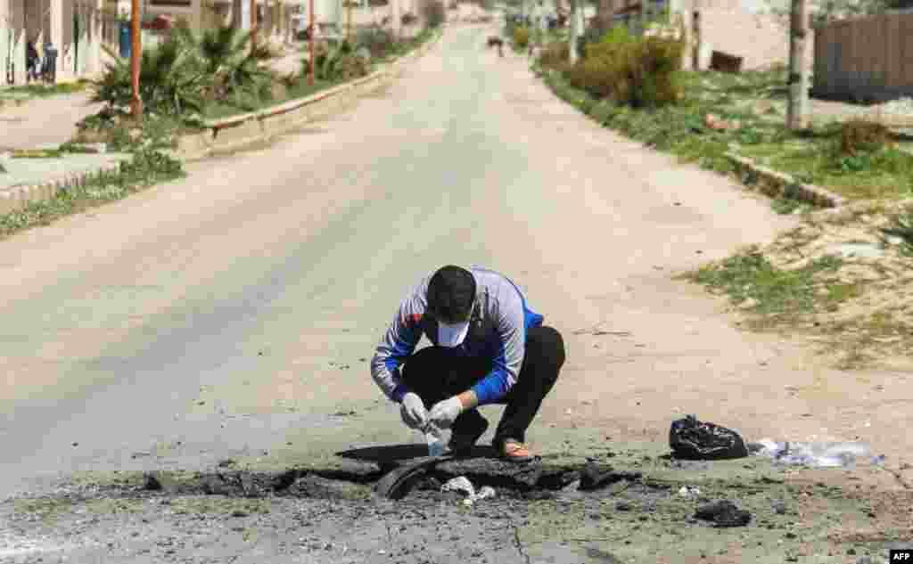 Zaharli gaz qoldiqlari, Idlib viloyati