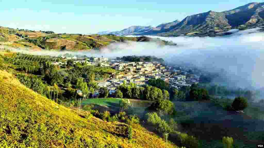 روستای موسالان در شهرستان سردشت استان آذربایحان غربی عکس: مسعود (ارسالی شما)