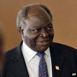 Le président Mwai Kibaki