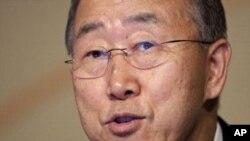 联合国秘书长潘基文(资料照)