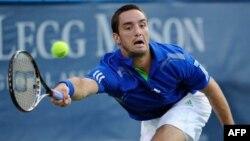 "Viktor Troicki na turniru ""Leg Mejson Tenis Klasik"""