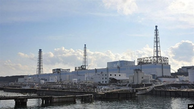 The badly damaged Tokyo Electric Power Co (TEPCO) Number 1 Daiichi nuclear power plant at Okuma town in Fukushima prefecture, March 31, 2011.