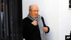 Ông Beji Caid Essebsi, ứng cử viên đảng Nidaa Tounes, là người chiến thắng trong cuộc bầu cử tổng thống vòng hai tại Tunisia.