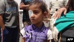 Nhiều trẻ em Palestine là những nạn nhân mới nhất trong vụ leo thang bạo động ở biên giới Gaza và Israel