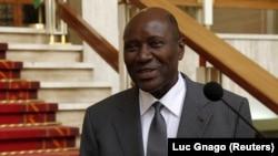 Le vice-président ivoirien Daniel Kablan Duncan, Abidjan, le 12 janvier 2016. REUTERS/Luc Gnago - RTX221G0