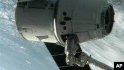 Hồi tháng 5, phi thuyền chở hàng không người lái SpaceX Dragon đã tiếp tế cho trạm không gian trong một chuyến bay thử