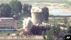 位於寧邊的核設施曾於2002年被銷毀(資料圖片)