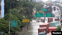Floods Cripple Indonesian Capital