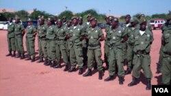 Polícia de guarda fronteira de Malanje