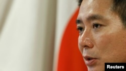 마에하라 세이지 전 일본 외무상 (자료사진)