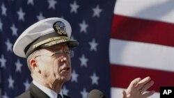 美国参谋长联席会议主席马伦上将