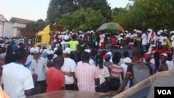 Guiné Bissau, Eleições 13 de Abril 2014, campanha de Nuno Nabiam