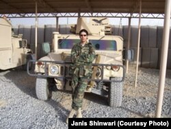 Janis Shinwari, an Afghan special immigrant visa recipient and co-founder of No One Left Behind. (2006 photo)